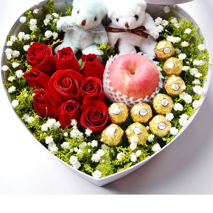 一直在爱你——快送鲜花网|圣诞鲜花礼盒|玫瑰礼盒|平安夜鲜花订购|情人节鲜花预定|鲜花快捷|圣诞节送花