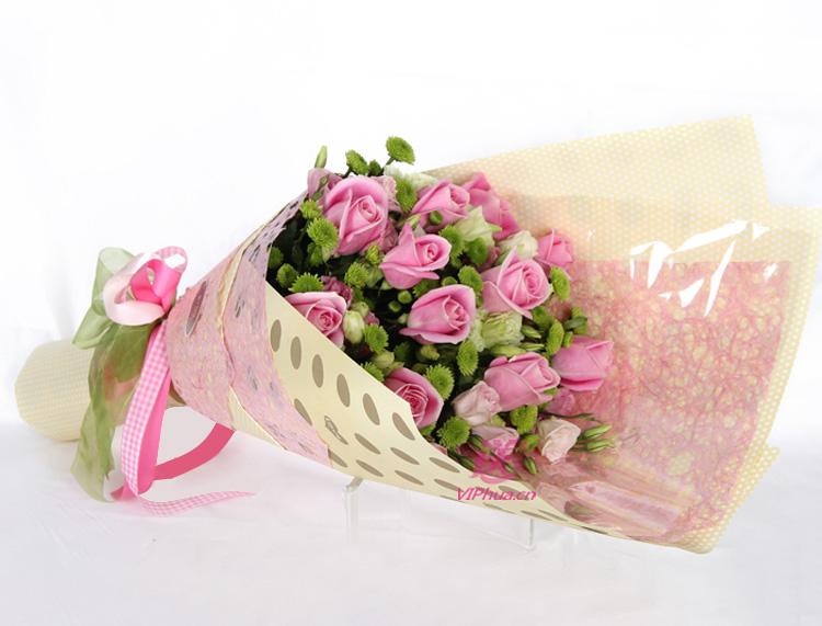 情深意浓—快送鲜花网|粉玫瑰|北京送花|网上订花|朝阳区鲜花店|网上订购鲜花