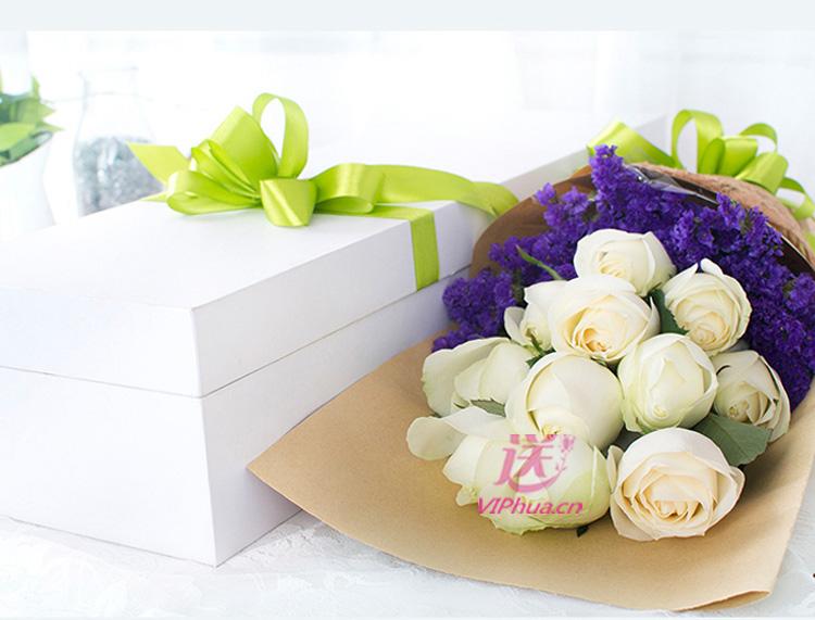似水年华—快送鲜花网 石家庄鲜花 同城订花网 鲜花预订 情人节鲜花 送女朋友