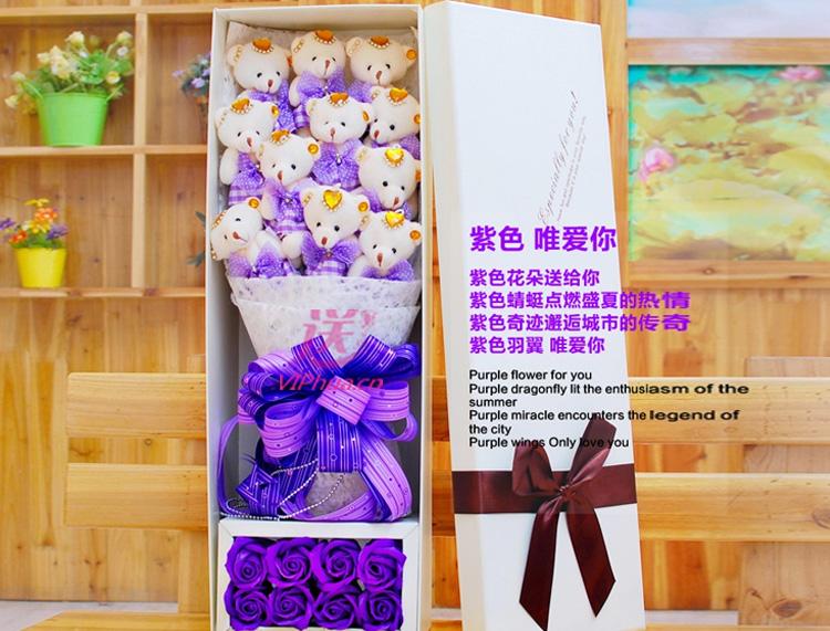 彼此牵手—快送鲜花网|异地送礼物|卡通花束|公仔外偶|毛绒玩具|网上买礼物|圣诞礼物