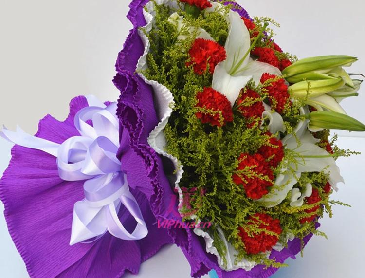 幸福像花儿一样—快送鲜花网 慰问祝福鲜花 幸福团圆鲜花 母亲节送花