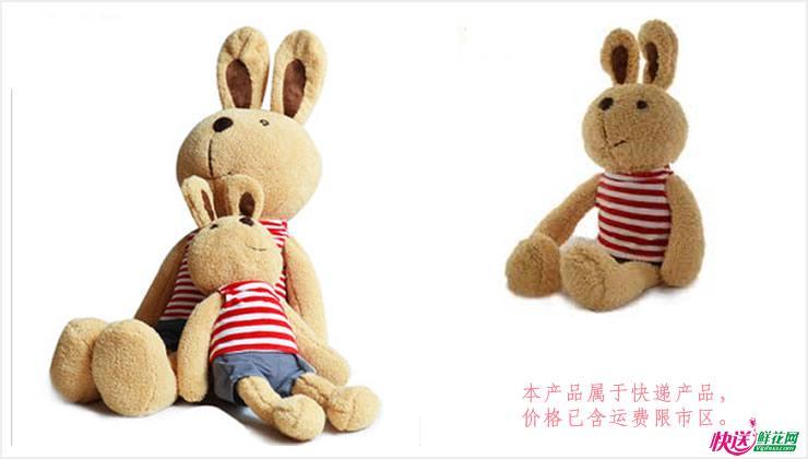 糖糖兔—快送鲜花网|毛绒玩具|玩具熊|卡通玩偶|送女友娃娃|毛绒娃娃
