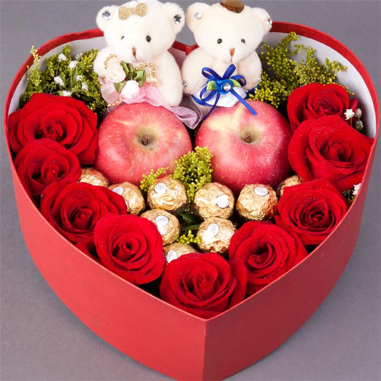 甜心 Darling——快送鲜花网 鲜花礼盒 玫瑰礼盒 鲜花订购 情人节鲜花预定 鲜花快捷 圣诞节送花